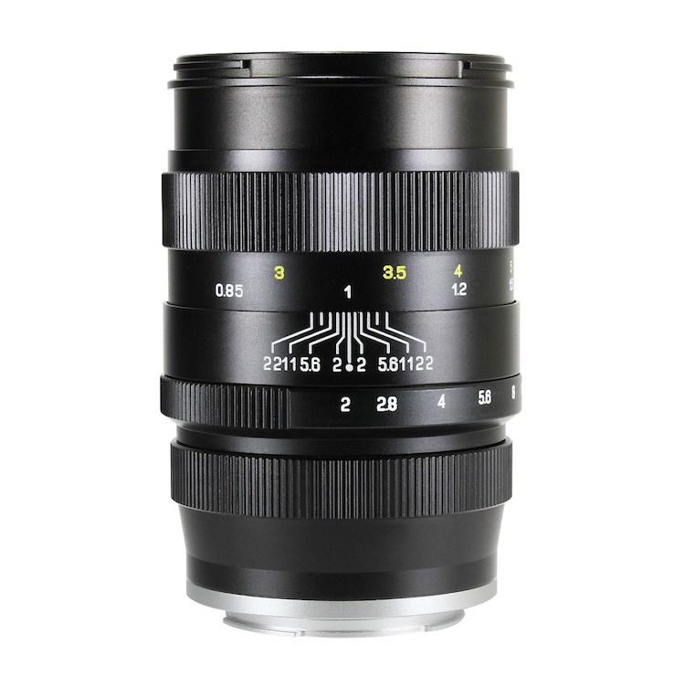 Объектив Zhongyi Mitakon Creator 85mm f/2, черный