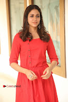 Actress Lavanya Tripathi Latest Pos in Red Dress at Radha Movie Success Meet .COM 0067.JPG