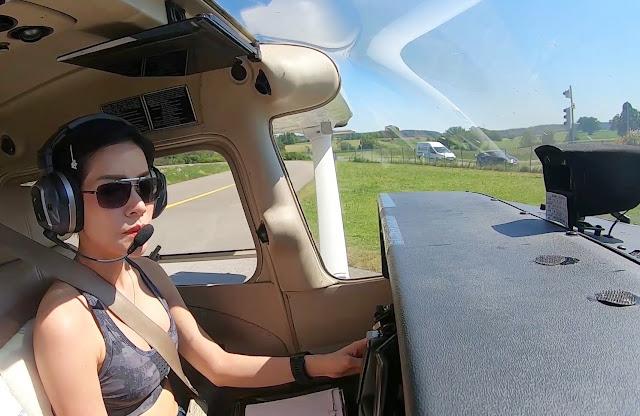 Pilot Wanita Cantik yang Pernah Viral Ini Ternyata Bukan Orang Sembarangan, Sugoii!