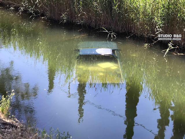 Κλεμμένο αυτοκίνητο εντοπίσθηκε μέσα σε ποτάμι στην Αργολίδα
