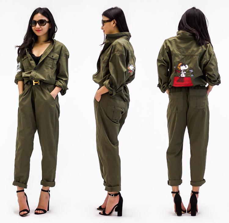 d7e4d0a98c0 Zara Long Jumpsuit with Pockets (past season)