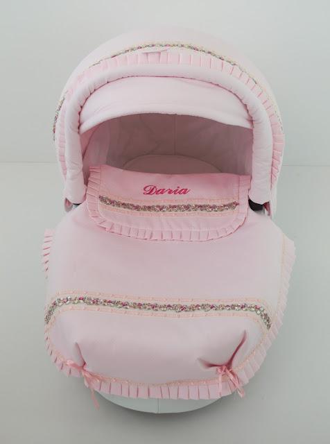 colcha rosa capazo Kunert Professional Romantic