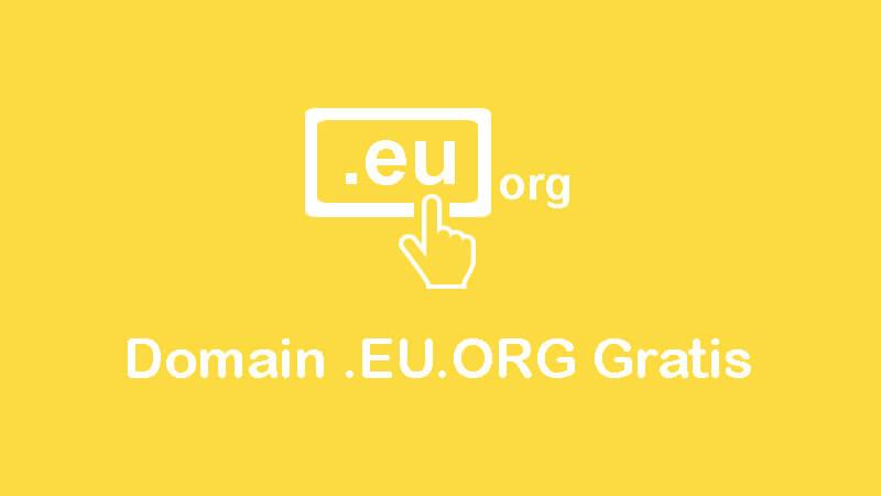 cara mendapatkan domain eu.org gratis