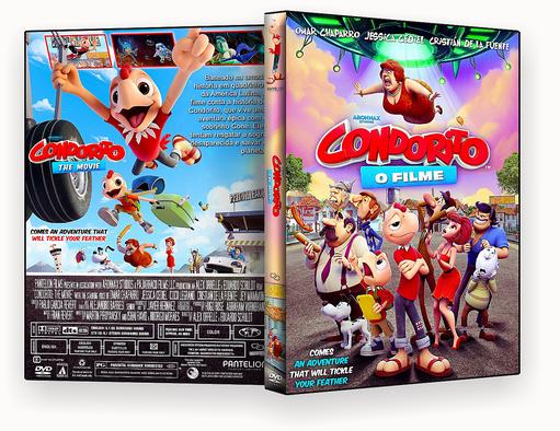 Condorito O Filme 2018 – ISO – CAPA DVD