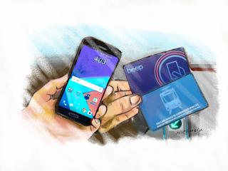 Android Phone As Mrt Lrt Beep Card