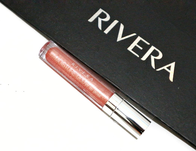 Rivera Moisture Glow Lip Gloss in Sparkle Pink