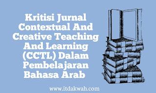 Contoh Kritisi Jurnal CCTL bahasa arab