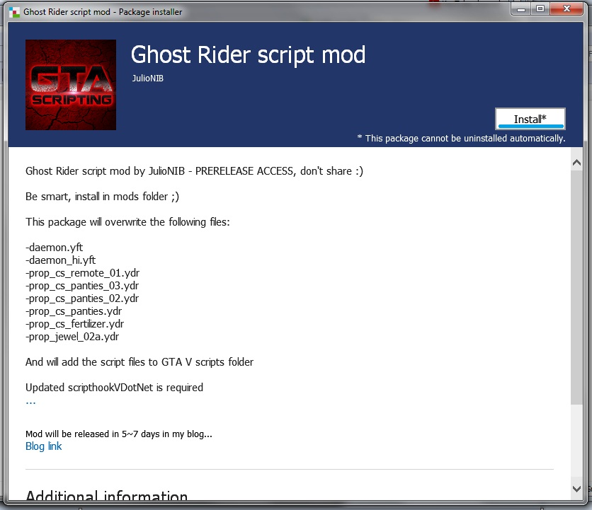 GTA X Scripting: [TUT] Installing  OIV packages in GTA V