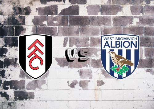 Fulham vs West Bromwich Albion  Resumen