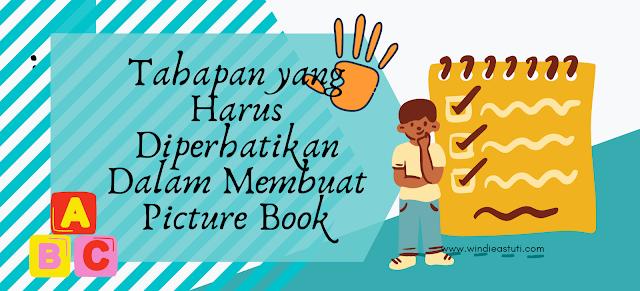 Tahapan menulis picture book