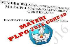 Materi PLPG Sertifikasi Guru SD 2016 Semua Mata Pelajaran Lengkap