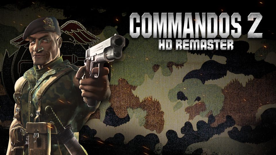 COMMANDOS 2 - HD REMASTER OUT TODAY ON NINTENDO SWITCH