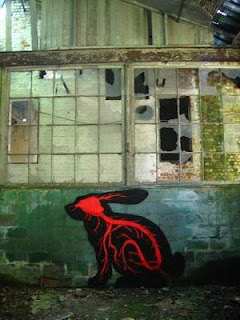 Arte callejeto - Graffiti de animales.
