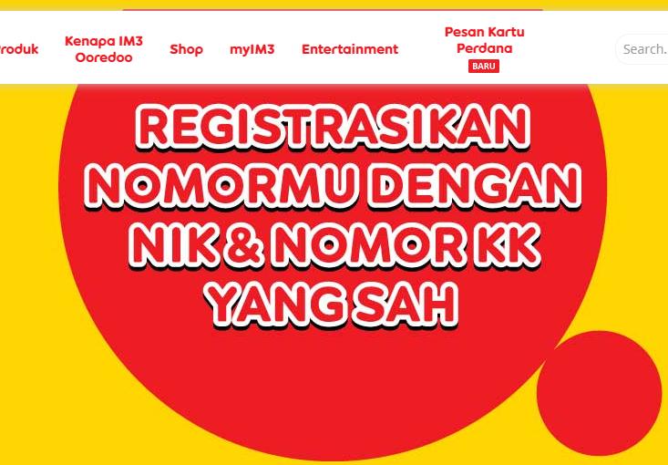 Empat Cara Registrasi Kartu Indosat Baru Tahun 2020 Warga Negara Indonesia