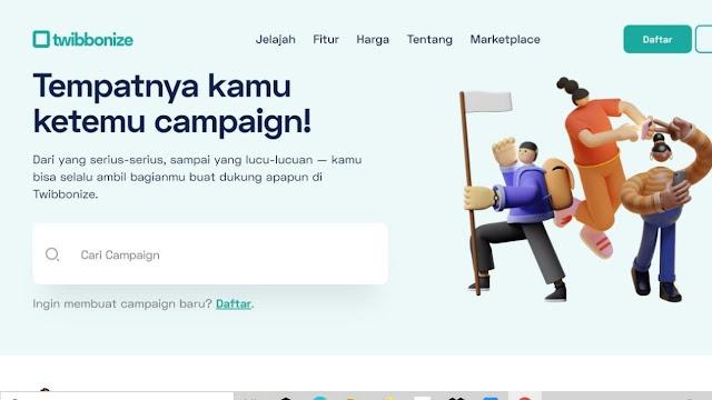 Cara Memasang Foto di Twibbon Tanpa Aplikasi