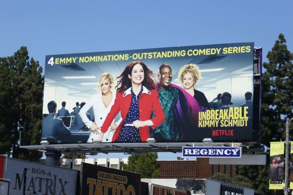 Kimmy Schmidt season 4 Emmy nominations billboard