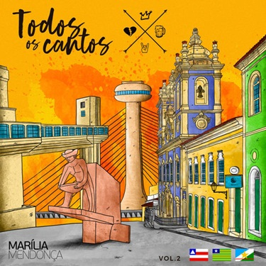 CD Todos Os Cantos Vol. 2 (ao Vivo) – Marília Mendonça (2019) download