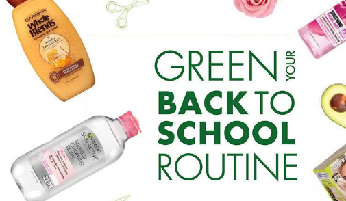 Garnier wants back to school to be filled with beauty, so they're giving away a whole years' worth of products and a $500 Walmart gift card!