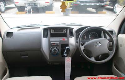 Interior Mobil Luxio Lengkap