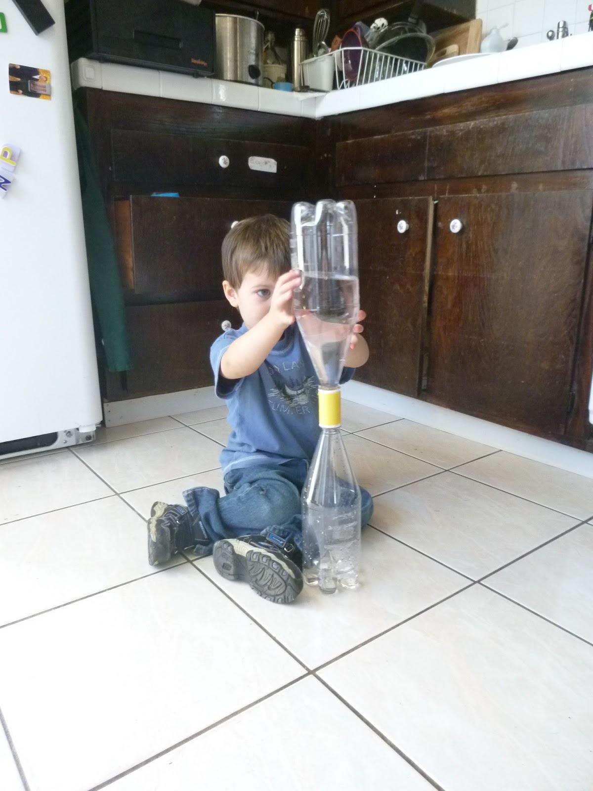 Tatyland Montessori Tornado In A Bottle Science Experiment