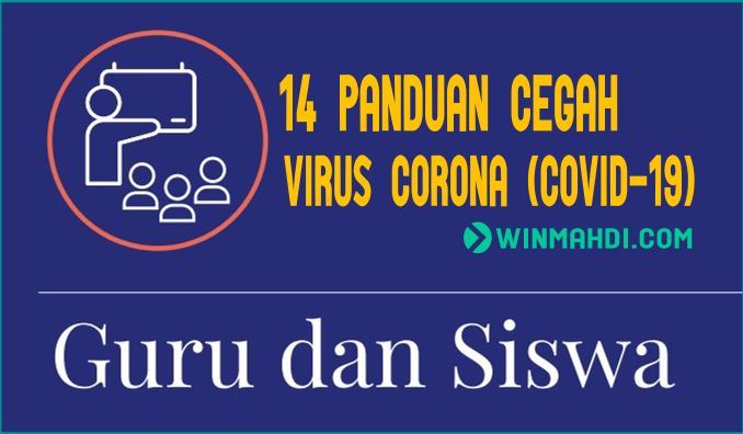 14 Panduan Cegah Virus Corona Untuk Guru