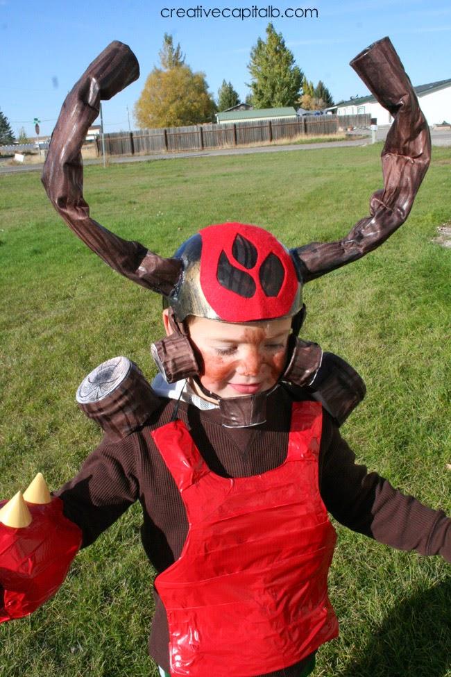 Saturday October 19 2013  sc 1 st  Creative Capital B & Capital B: DIY Skylanders Tree Rex Costume
