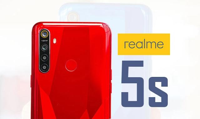 سعر و مواصفات Realme 5s مميزات و عيوب