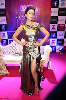 Shreya Saran in Skin Tight Golden Gown ~  Exclusive 004.JPG