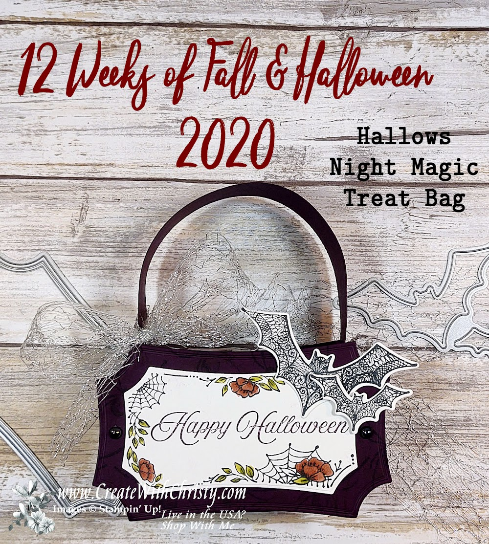 12 Weeks of Fall & Halloween 2020 - Week #1