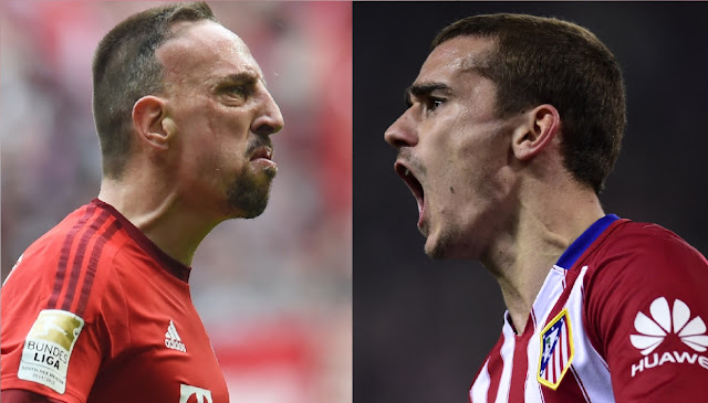 Griezmann hits back at Ribery's criticism