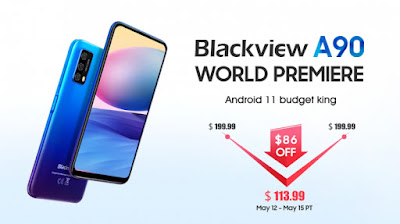 هاتف Blackview A90 ذو ميزانية محدودة مع مميزات جيدة متاح بسعر 113.99 دولارًا فقط !!