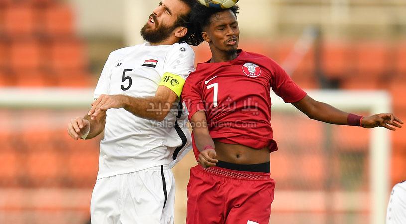القمة العربية في كأس آسيا تحت 23 سنة تنتهي بالتعادل الاجابي بين قطر وسوريا
