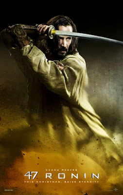 Poster oficial 47 Ronin cu Keanu Reeves