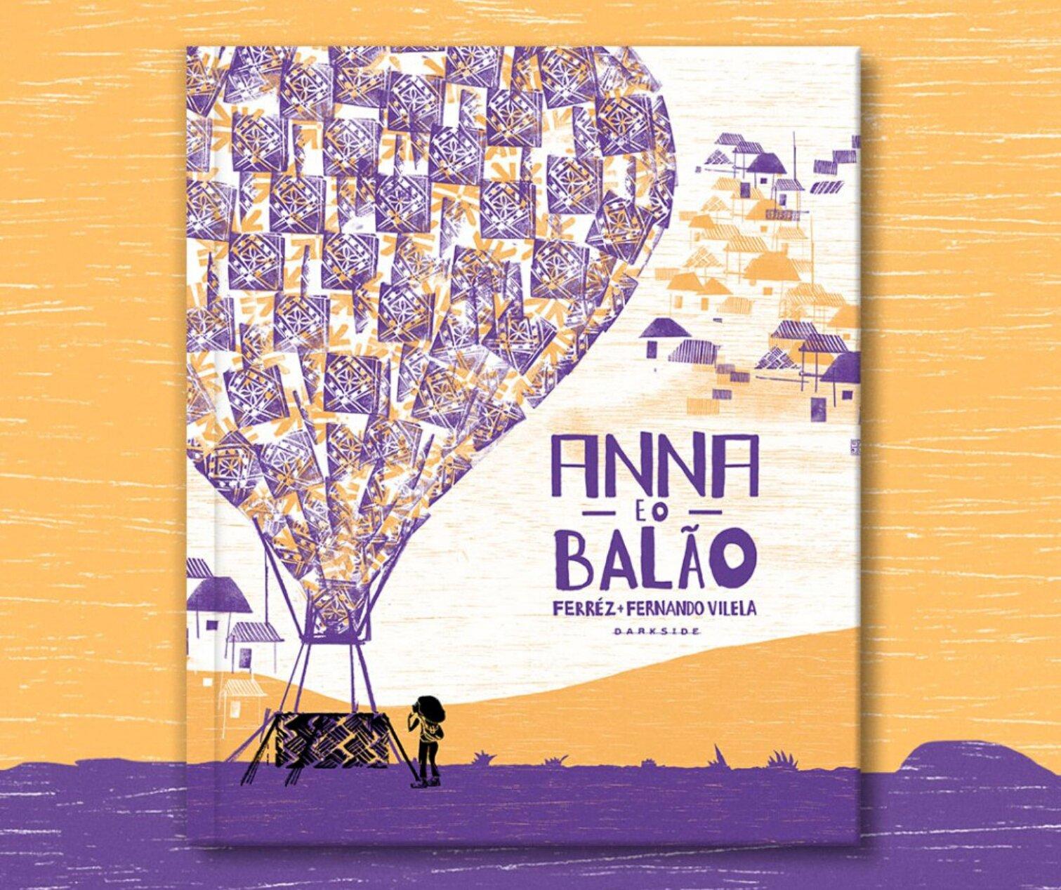 Resenha: Anna e o Balão, de Ferréz e Fernando Vilela