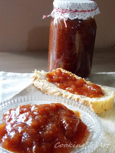 Μαρμελάδα σύκο με μέλι