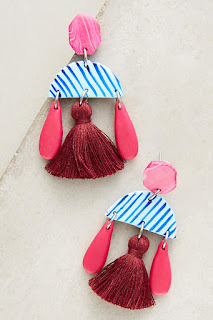 Make a splash in these statement earrings - Brisbane Earrings - Anthropologie - Jewellery Summer Holiday