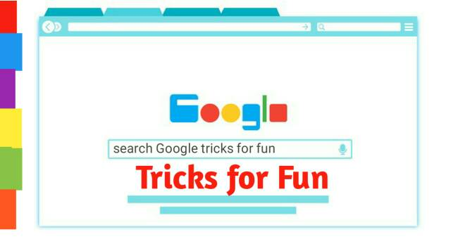 Google Tricks for fun