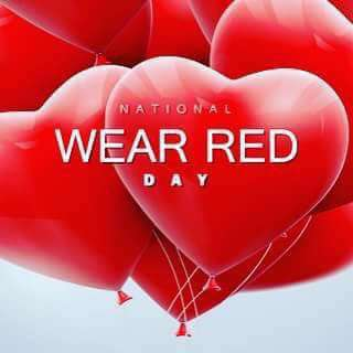 National Wear Red Day Wishes for Whatsapp