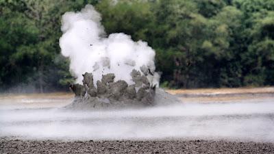 Photo of Bledug Kuwu eruption