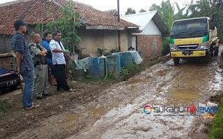 kondisi jalan Pasirbadak Cibolang Gunungguruh