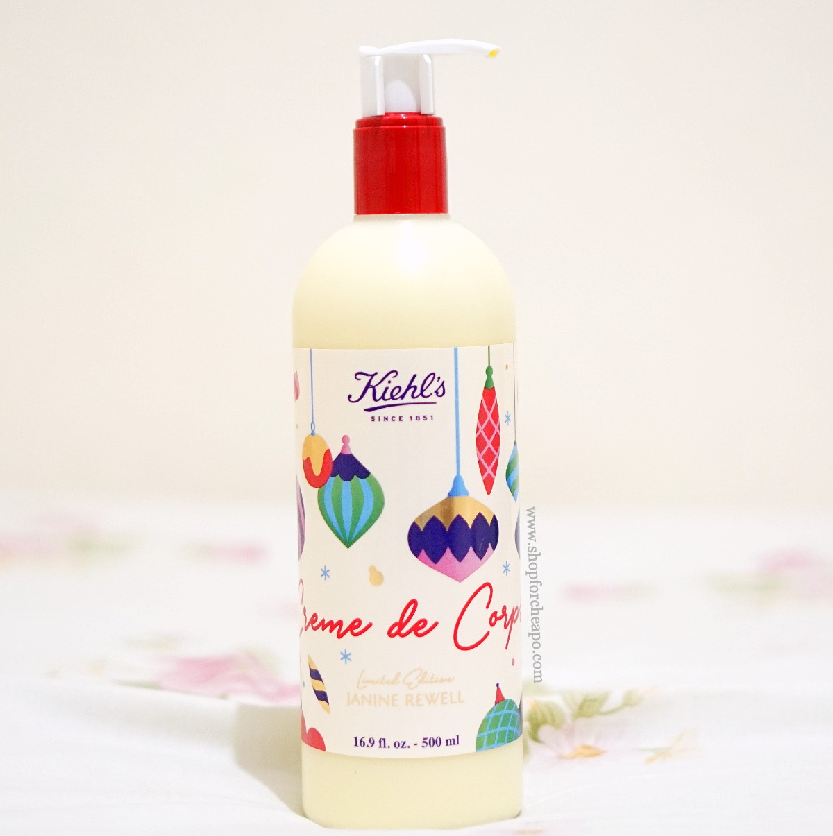 review kiehls creme de corps lotion ingredients