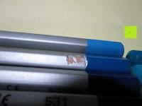 Lackschäden: KINGTOP 48er Buntstifte Schaft Farbstift Eco Bleistifte Kartonetui für Kunst Aquarelle gut Geschenk