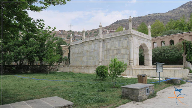 Mesquita Shah Jahan, em Cabul, no Afeganistão