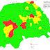 Harta actualizată la zi a incidenței Covid-19 în județul Suceava: opt localități în scenariul ROȘU și 21 de localități în scenariul GALBEN