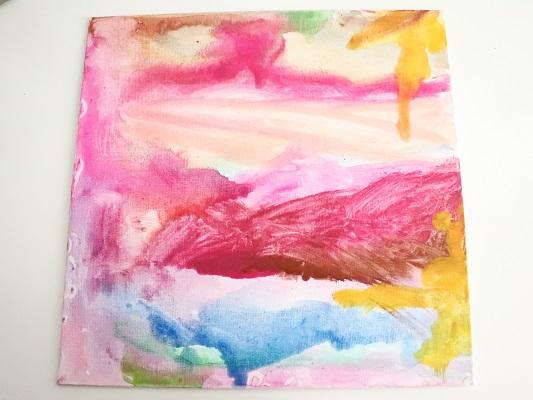 activité enfant peinture