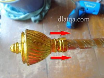 memasang end cup ke batang gorden (2)
