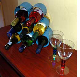 Marvelous How To Recycle Recycled Tin Can Wine Rack Instruction Download Free Architecture Designs Salvmadebymaigaardcom