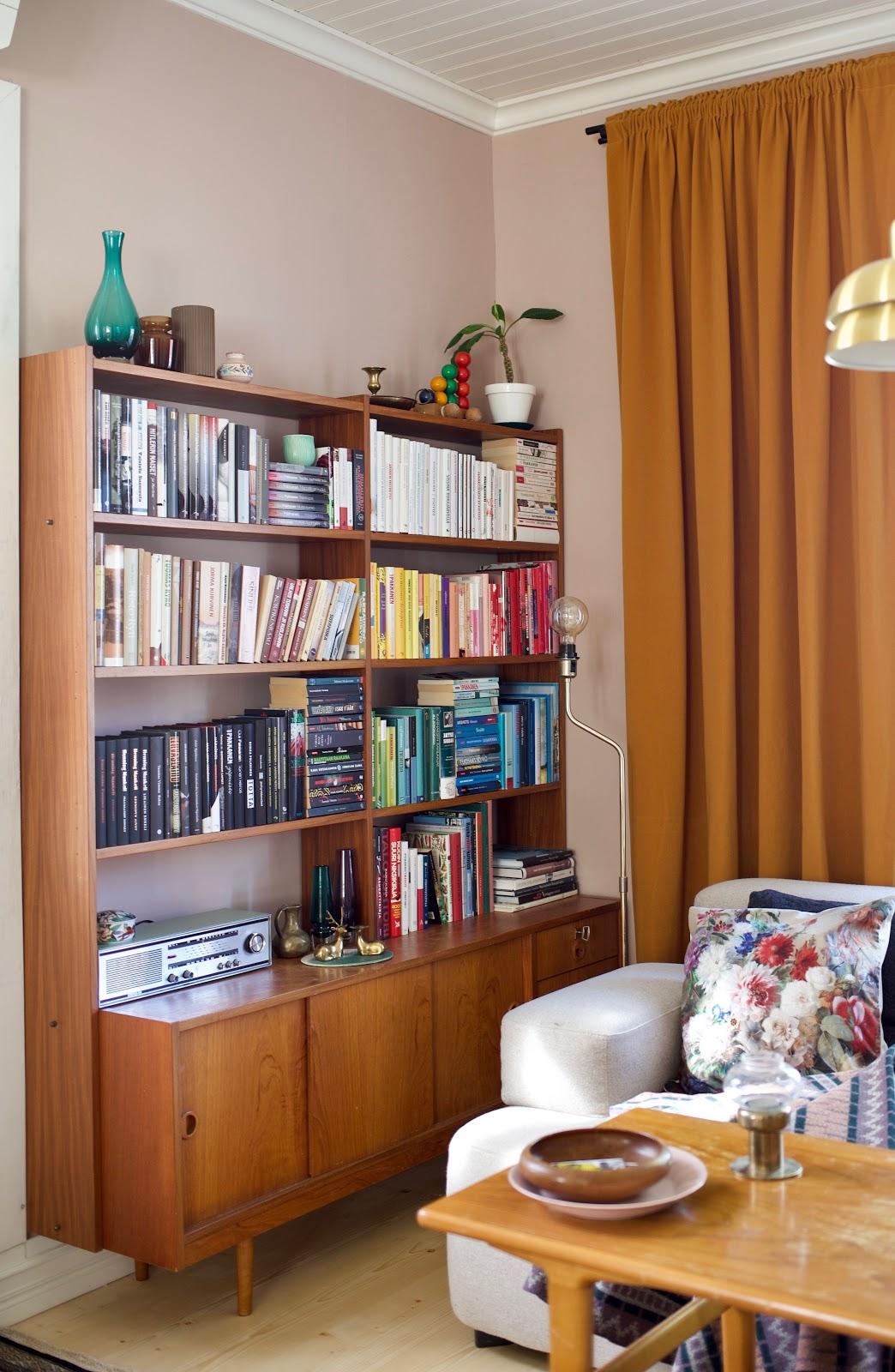 teak huonekalut vanha talo sisustus blogi