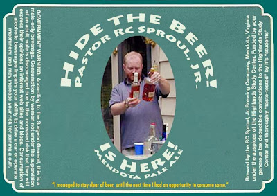 Hide The Beer Pastor RC Sproul Jr Is Here Pale Ale