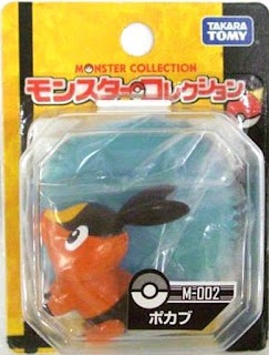 Tepig figure Takara Tomy Monster Collection M series